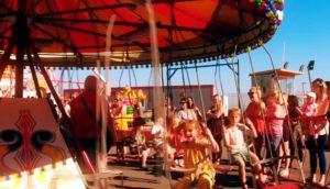 coney beach amusement park children's rides