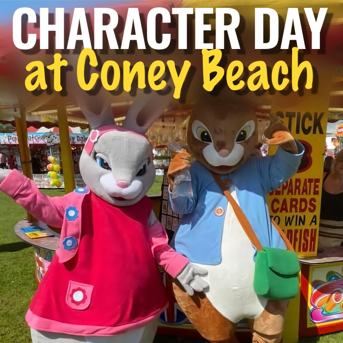 CHARACTER DAY AT CONEY BEACH
