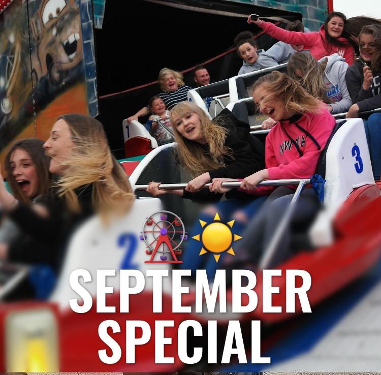 September Special at Coney Beach Porthcawl