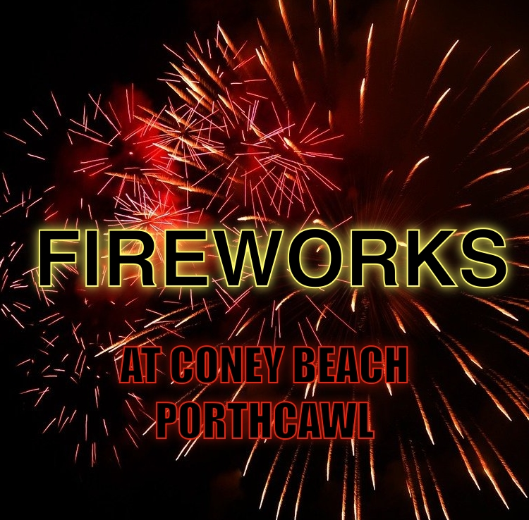 Coney Beach will be hosting a free firework event on Saturday 2nd October!
